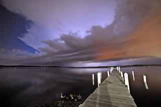 Late Night Supercell