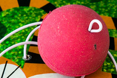 Relaxation:  Paddle Ball At Rest. (Glotzsee) Tags: macromondays relaxation
