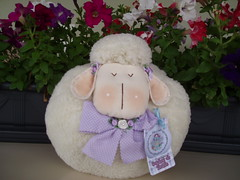 Ovelha fofinha (Sonhos de Tecido) Tags: artesanato decorao bichinhos tecido ovelha