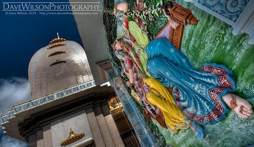 Barsana Dham Hindu Temple, Austin (for International HDR Day)