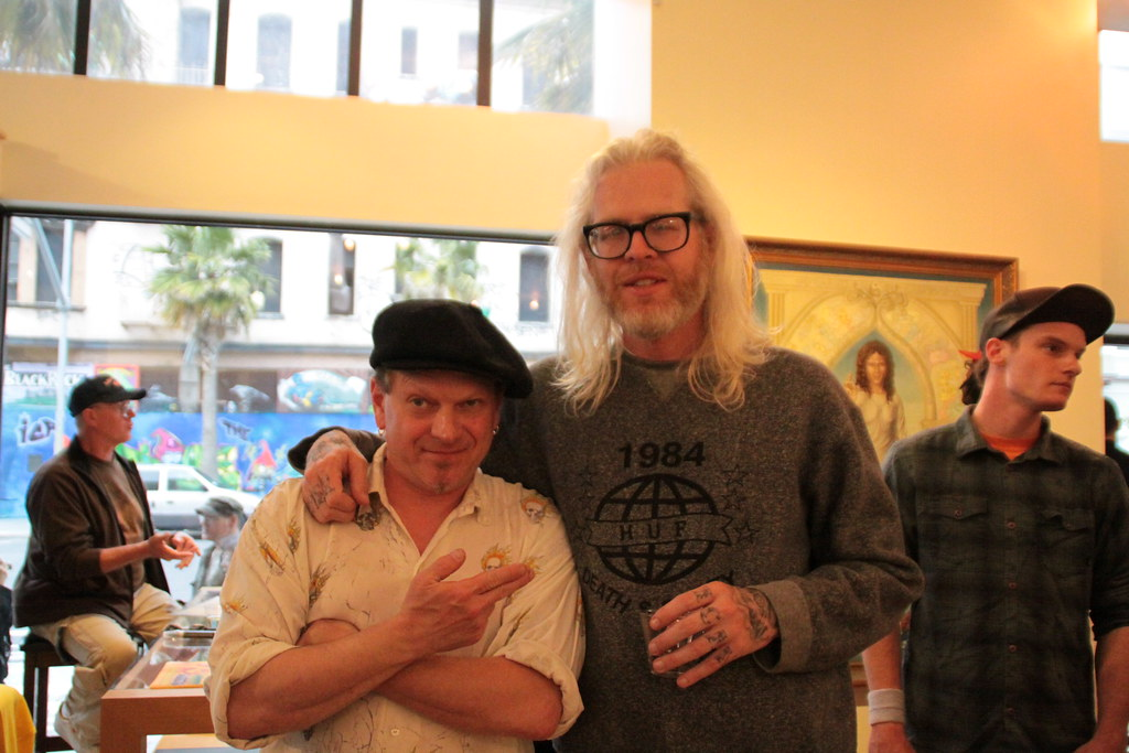 """Mark Bode's """"Wizards, Lizards, and Broads"""" Opening"""