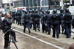 G20 Riot Police in formation