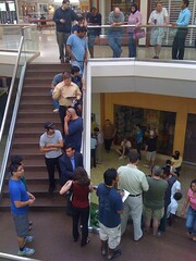 iPhone 4 Apple Store Line at Fair Oaks Mall,  Washington, DC Metro area June 24, 2010 6:30 am #3 (aeleazer1(Busy,Off/On)!!!) Tags: camera blue light sky sun white black color green art apple colors yellow mobile upload mall virginia blog dc washington interestingness interesting day random picture applestore explore smartphone dcist daytime fairfax fairfaxvirginia effect tagging catchy api washdc facebook iphone ipad fairfaxco fairfaxcounty metroarea twitter colorpicture fairoaksmall infinitescroll iphone4 iphonecamera iphonepicture flickriver iphonography iphoneart aeleazer1 0s4 aeleazer andreeleazer
