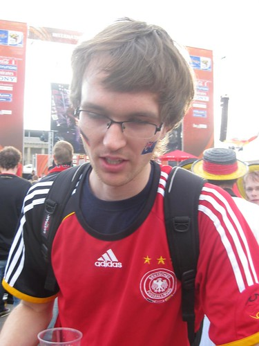 Australia v Germany, Berlin Fan Fest