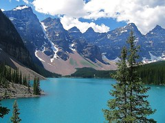 Lake Morraine (Tim Jordan Photography) Tags: blue lake canada mountains britishcolumbia banff lakemorraine
