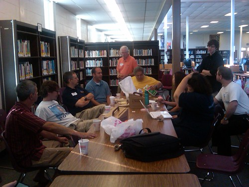 Bloggers Breakfast at DFA Training 2010