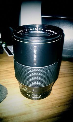 Hanimex 200mm f/3.3 Prime Lens
