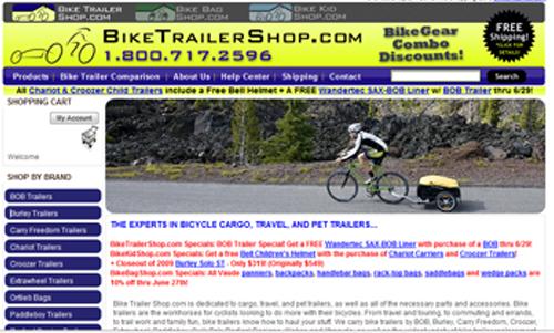 BikeTrailerShop.com