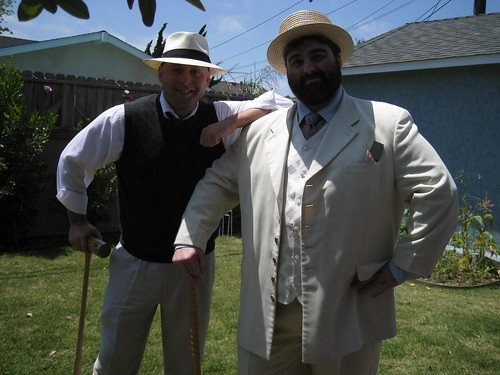 me and Mike back in the 20s
