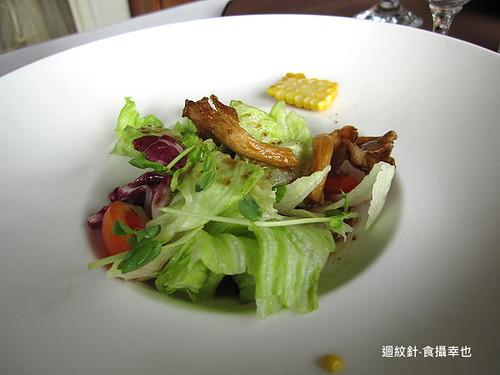 葡萄樹商業午餐之沙拉