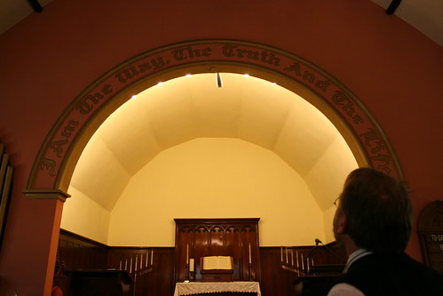 Interior of Virginia Street Church