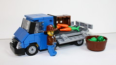 Ford Transit (Ricecracker.) Tags: ford scale lego fig mini transit farmer minifig van lugnuts minifigure moc foitsop minifigscale