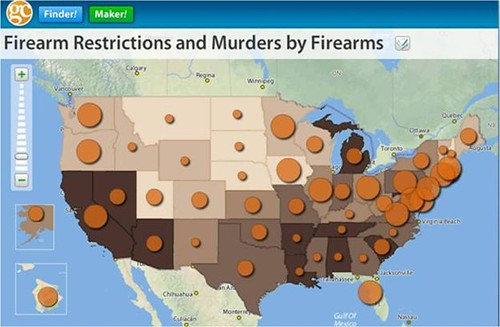 Firearm Restrictions by State and Murder Rate