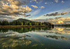 A Moment of New Light at the Oxbow (Jeff Clow) Tags: morning reflections dawn raw snakeriver wyoming mountmoran tetons gar grandtetonnationalpark earlymorninglight oxbowbend 5exp jacksonholewyoming jeffrclow