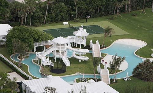 Celine Dion zwemparadijs