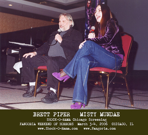 Brett Piper / Misty Mundae - Fangoria SHOCK-O-RAMA 3/2006
