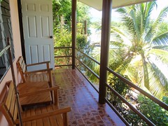 Notre balcon au Tamarind