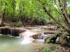 Erawan waterfalls niveau 1