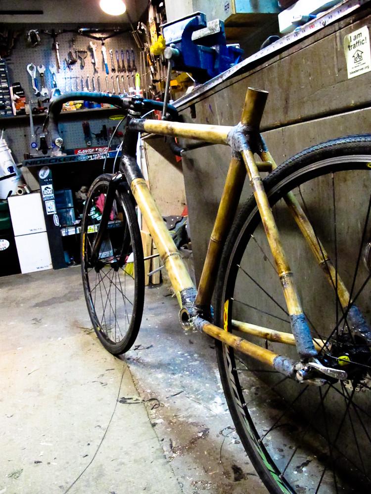 Bamboo Bike mock-up
