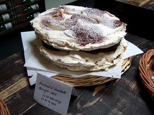 La Fromagerie meringue cake