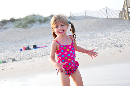 Kenna at Topsail Beach