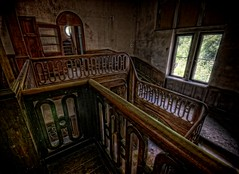 Banisters! (Batram) Tags: urban castle beauty germany deutschland for thringen sale euro decay thuringia villa mansion rent exploration chteau urbex auerbach 1000000 saalfeld 1million contactme
