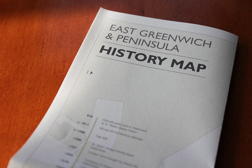East Greenwich History Map
