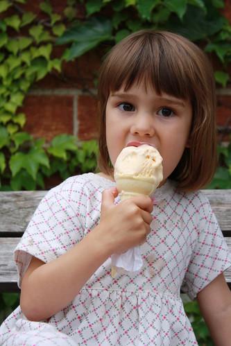 Ice cream cone..