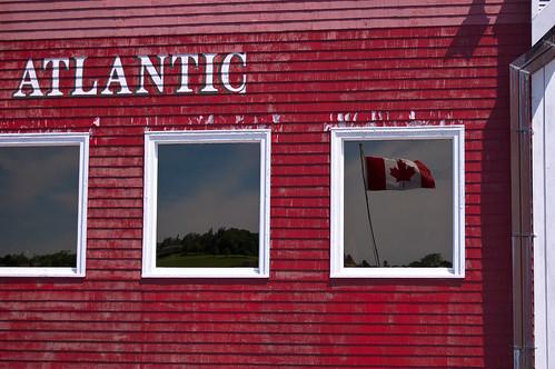 朗嫩堡大西洋渔业博物馆的加拿大国庆日快乐!