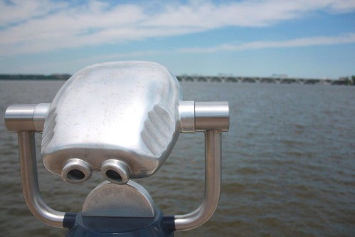 Binoculars at National Harbor, Maryland