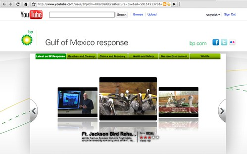 BP YouTube AdWords Destination URL