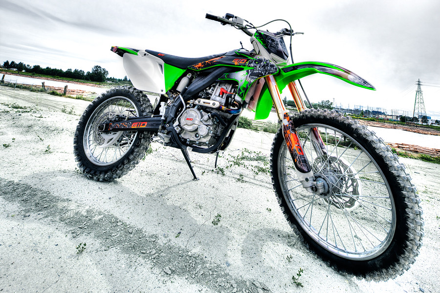 NOT your average dirt bike - X37