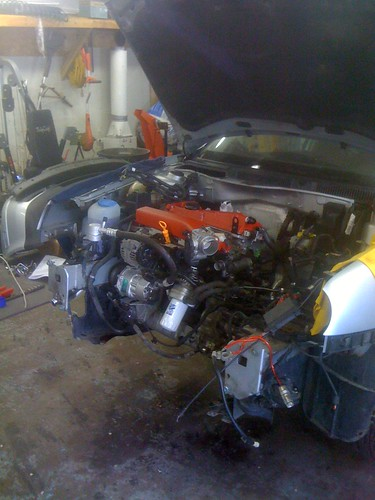 Fourtitudecom 18t Engine Removal From Front Of Vehicle