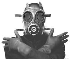 Supernaut! (psyberyeti) Tags: dark scary mask being eerie gas gasmask dunkel supernaut
