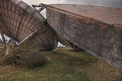 Discs Collide (shando.) Tags: urban abandoned canon lincolnshire exploration derelict abandonment ux radar dereliction raf ue transmitter urbex shando stenigot eos500d wwwtalkurbexcom