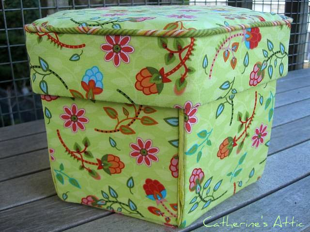 I first made a Victorian sewing box a few years ago before kids and when I was living in Auckland. My LQS was  Patchworks of Ponsonby  which is no longer ... & The Sewing Attic: A