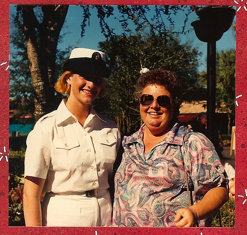 Kristen & Pat 1989