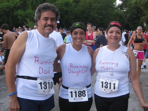 My Running Family @ Watermelon 5K 2010