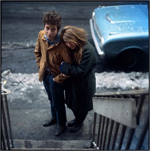 Bob Dylan y Suze Rotolo