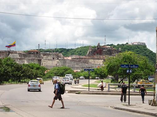 View of Castillo de San Felipe de Barajas