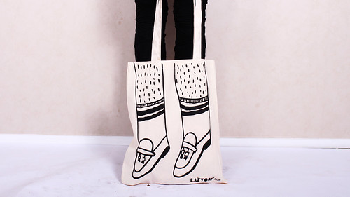 Lazy Oaf Loafers Tote Bag