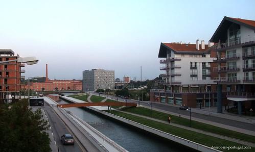 Modern streets of Aveiro