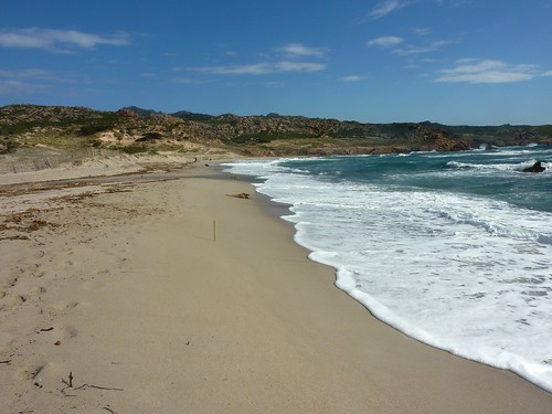 Sentier Nord Capu di Fenu - La Tonnara : plage de Stagnolu