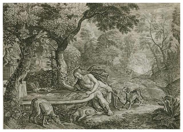 008-Les Metamorphoses d'Ovide  En Latin Et François … 1677