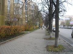 Классический тротуар