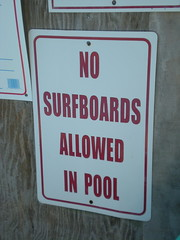 Signs at OBX house