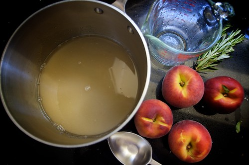 making the simple syrup