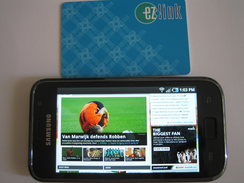 Samsung Galaxy S 4-inch Screen