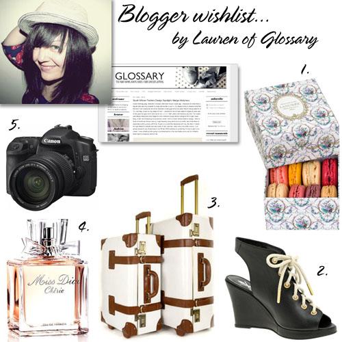 Glossary wishlist