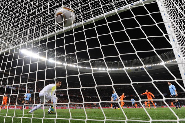 Holland Uruguay World Cup Arjen Robben Fernando Muslera
